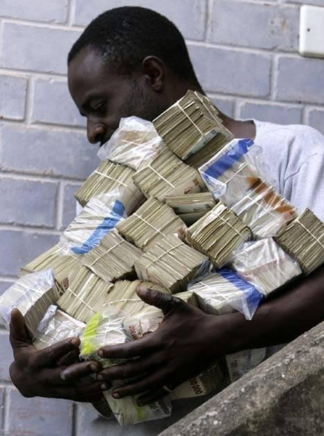 قیمت روز دلار زیمباوه